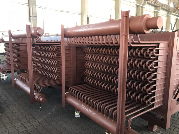 LLC KMZP has mastered the production of membrane economizers for large-capacity power boilers